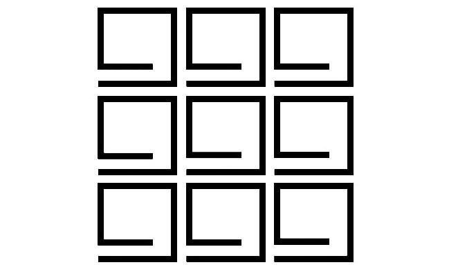 几何组合图形
