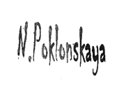 N.POKLONSKAYA