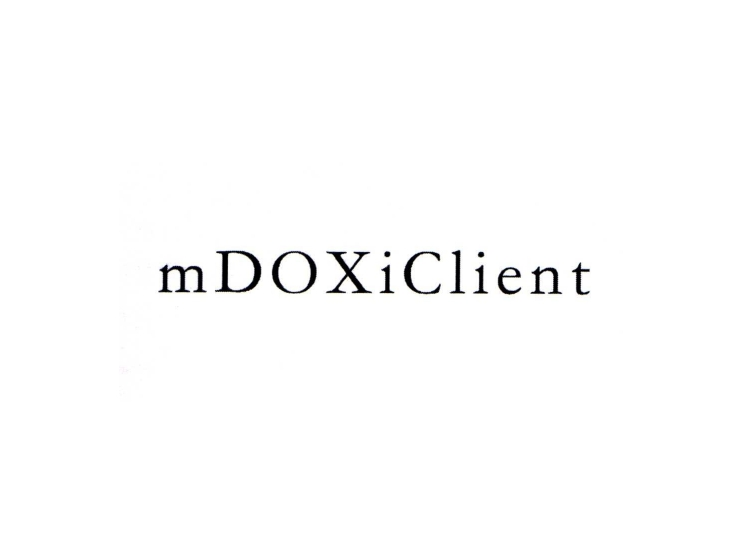 MDOXICLIENT