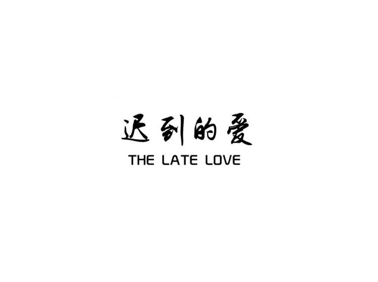 迟到的爱THELATELOVE